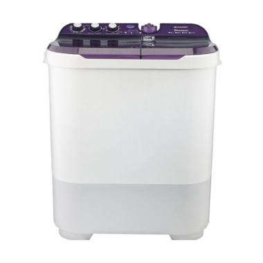 SHARP EST1090VK Semi Auto Washer Mesin Cuci - Violet
