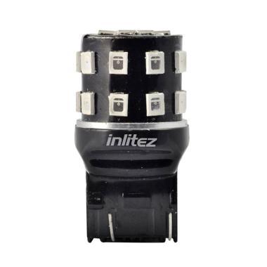 INLITEZ T20F-D-24R Tancap LED Lampu ... r - Merah [24 LED/ 2 pcs]