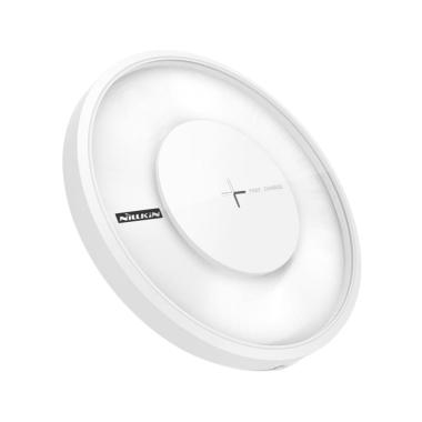 Nillkin MC017 Qi Magic Disk 4 Wireless Charger - White [Fast Charge]