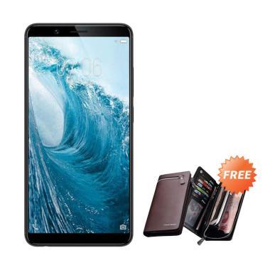 VIVO Y71 Smartphone - Black [16GB/ 2 GB] + Free Dompet