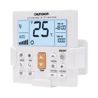Chunghop K-650E LCD Universal AC Remote Controller - White