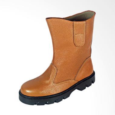 Nema Kulit Sapi Asli Sepatu Boot Safety Pria [Original]
