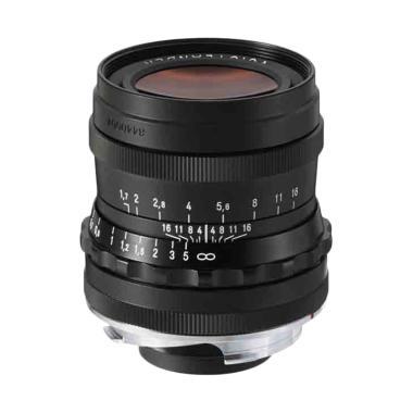 Voigtlander by Cosina 35mm F/1.7 As ... ca M Lensa Kamera - Black