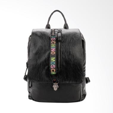 Fashion 0930020561 Import Tas Ransel Wanita - Black