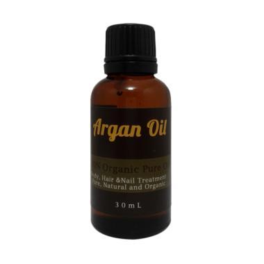 Natural Hut Minyak Argan Murni Perawatan Rambut dan Kulit [30 mL]