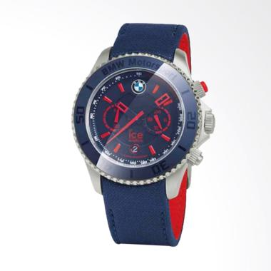BMW Motorsport Ice Watch Steel Jam Tangan Pria - Navy
