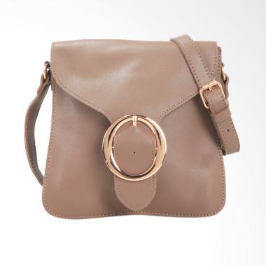 Lorica by Elizabeth Abigail Sling Bag Wanita - Khaki