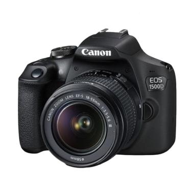 harga Canon EOS 1500D Kit 18-55 IS II Kamera DSLR - Black [WiFi] Blibli.com