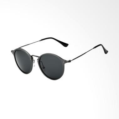 9b4ed8d5247 Veithdia UV Polarized Kacamata Pria - Black  6358