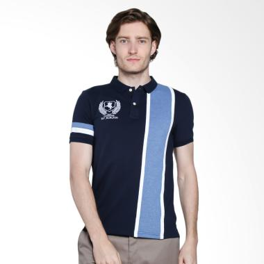 Giordano Napoleon Courage Embroidery Polo Shirt - Navy [0101722024]