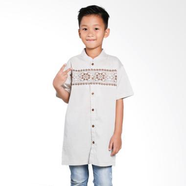Versail Kids Bordir Roda Dada Junior Baju Koko Anak
