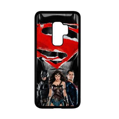 harga Bunnycase Batman vs Superman W3550 Custom Hardcase Casing for Samsung Galaxy S9 Plus Blibli.com