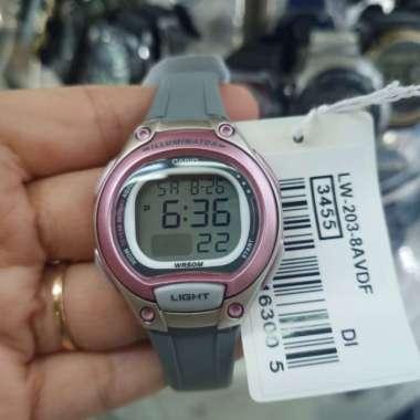 Jam tangan Anak dan Remaja Casio LW-203-8AVDF original Multicolor