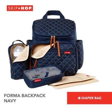 harga Skip Hop Forma Backpack Diaper Bag Tas Perlengkapan Popok Bayi - Navy Blibli.com