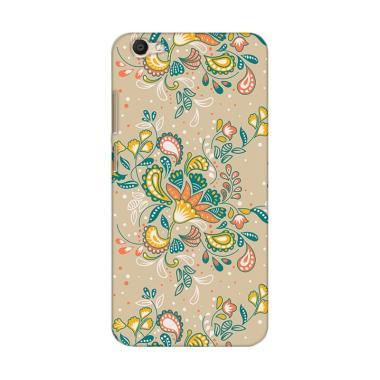 Premiumcaseid Batik Shabby Floral Art Hardcase Casing for Vivo V5