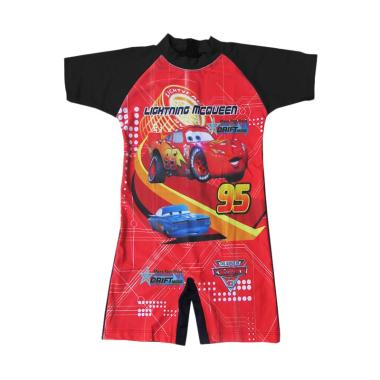 Rainy Collections Karakter Cars Roda Baju Renang Diving Anak [Size TK]