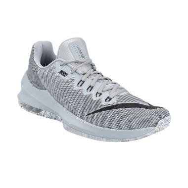 Nike Men BasketBall Infuriate 2 Low Sepatu Basket Pria [908975-002]