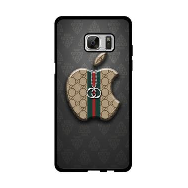 Acc Hp Gucci Apple Logo X5099 Custom Casing for Samsung Note FE