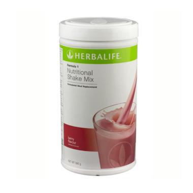 Herbalife Formula 1 Nutritional Shake Mix Rasa Berry Minuman Kesehatan