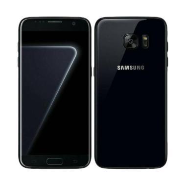 harga Samsung Galaxy S7 Edge Smartphone - Absolute Black [128 GB/4GB] Blibli.com