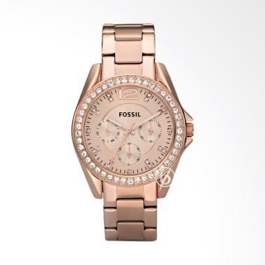 Fossil ES2811Riley Chronograph Jam Tangan Wanita [Original]