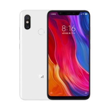 Xiaomi Mi 8 Smartphone - White [256GB/ 6GB]