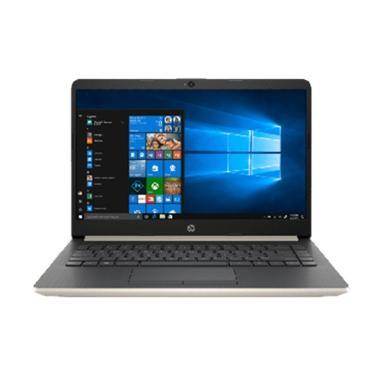 harga HP 14s-cf0063TU Notebook - Gold [i3-7020U/4GB/1TB /UMA/NoODD/14inch/Win10] Blibli.com