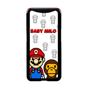 harga Flazzstore Baby Milo And Mario W4812 Premium Casing for Oppo Find X Blibli.com