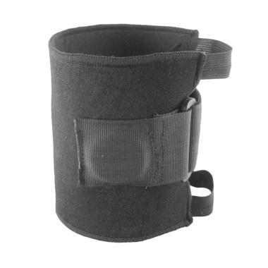 harga IIT Elastic Knee Brace Adjustable Straps Support Safety Guard For Sports Running - Black Blibli.com