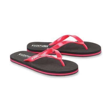 Kuzatura Sandal Pria - Hitam [KTE 429]