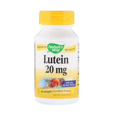 Nature Way Lutein Vitamin Mata [20 mg/ 60 Softgels/ ... Rp 500.000. Blackmores Lutein Vision Jaga Kesehatan Mata Supleme.