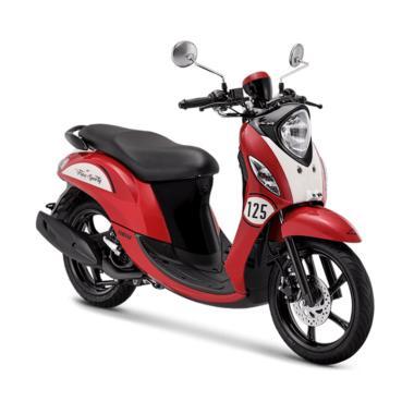 harga Yamaha New Fino Sporty 125 Blue Core Sepeda Motor [VIN 2019/ OTR Aceh & Medan] Blibli.com