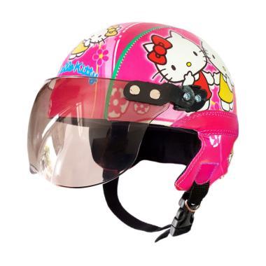 Cicimonmon Special Kids Hello Kitty Helm Anak