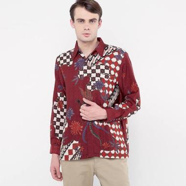 harga FBW Raden Formal Long Sleevs Batik Shirt Kemeja Pria Baju Couple Blibli.com