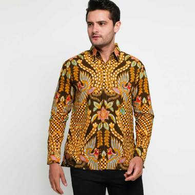 Adiwangsa Slim Fit Modern Baju Kemeja Batik Pria 304