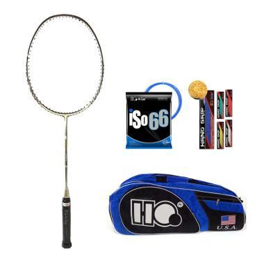 harga Hi-Qua Andromeda A Raket Badminton + Free Tas + Senar + Grip Grey Blibli.com