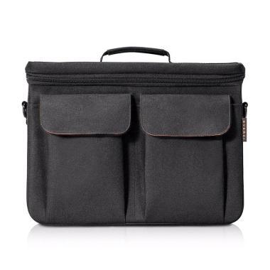 harga Everki EKF875 Core Briefcase Bag Ruggedized EVA Tas Selempang Laptop - Black [14 Inch] Blibli.com