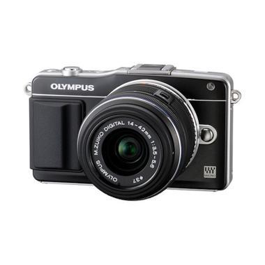 harga Olympus PEN E-PM2 14-42 Kamera Mirrorless - Black Blibli.com