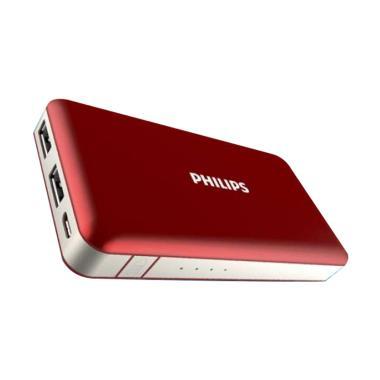 PHILIPS DLP 6080 Powerbank [Original/ 8.000 mAh/ 2.1A/ Fast Charging]
