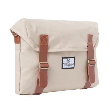 Woodbags Singaporean Bag Tas Pria - Khaki