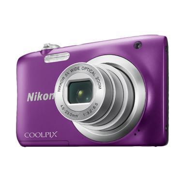 Nikon Coolpix A100 Kamera Pocket - Purple + Free LCD Screen Guard