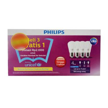 PHILIPS Set Lampu LED [4 W]