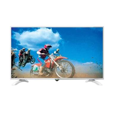Kamis Ganteng - SHARP LC40LE185IWH LED TV - White [40 inch]