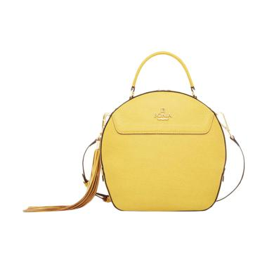 Bonia Basic Sonia Bag L Hand Bag - Yellow