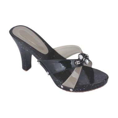 Syaqinah 370 Sandals Wanita - Hitam
