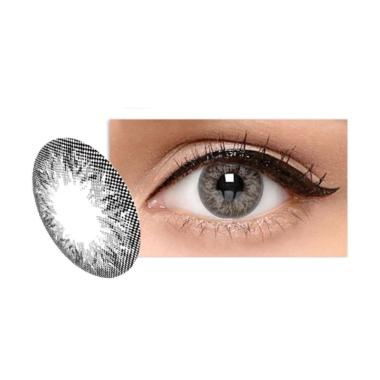 X2 Ice Silver 02 Softlens - Cloudy Grey