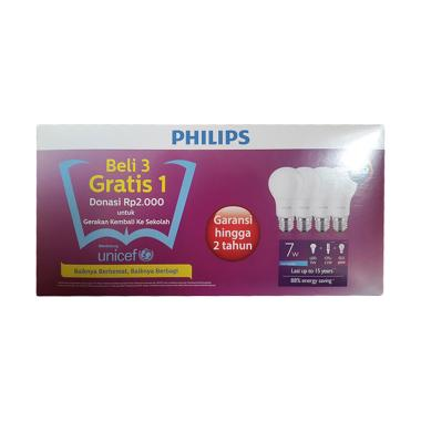 Philips Paket Lampu LED 7 Watt