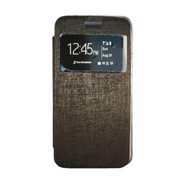 Gea Flip Cover Casing for Oppo R1201 - Hitam