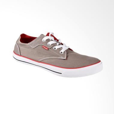 Carvil Canvas Mens Shoes Sepatu Kasual Pria - Grey Colect