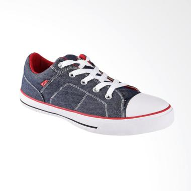 Carvil Canvas Mens Shoes Sepatu Casual Pria - Denim Roller-M